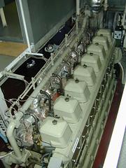 WARTSILA 6TS 24   Used Marine Diesel Engine Sparespres
