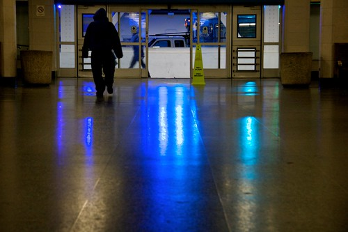 Morning Blues At The Bus Station