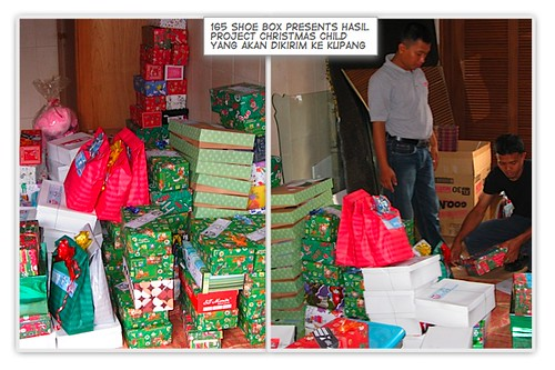 christmas child project goes to kupang