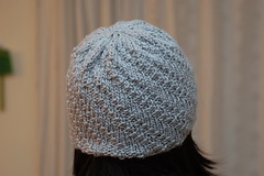 Spiral beanie - close up