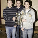 Cillian Cullinane and Jeremy Ryan with Kieran Murphy
