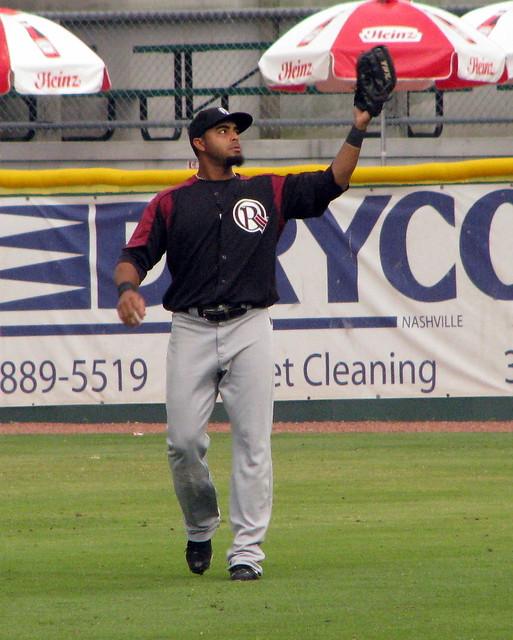 Nelson Cruz makes the catch