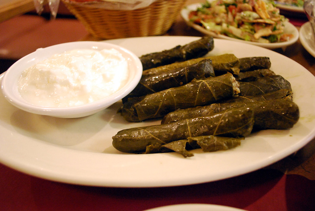 Nates Stuffed Grape Leaves