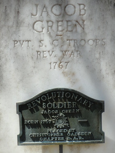 Jacob Green, Revolutionary War Soldier, Hopewell Cemetery, St. Clair County Alabama