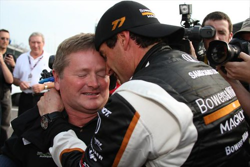 Sam Schmidt and Alex Tagliani
