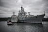 Croiseur Colbert (Philippe sergent) Tags: boat marine ship bretagne colbert marinenationale landevennec aulne croiseurcolbert c611 philippesergent