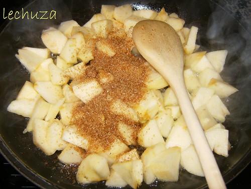 Crumble manzana-dorar