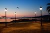 Morning light (Theophilos) Tags: morning light sea sky bird crete rethymno lampposts κρήτη θάλασσα πουλί πρωί φανάρια ρέθυμνο ουρανόσ φωσ