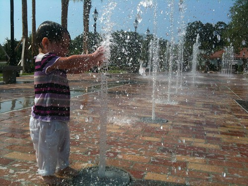 Interactive Fountain-Winter Garden, Florida