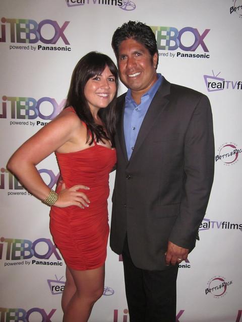 Christy Lee Hughes, Gordon Vasquez, RealTVfilms Social Media Lodge by LiTEBOX at BottleRock LA