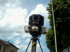 Google Street View Car 3D Cameras