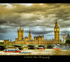 Westminster Bridge and Houses of Parliament (palashmitter) Tags: uk london westminster thames bridges housesofparliament bigben hdr westminsterbridge