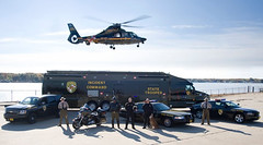 Maryland State Police (StateMaryland) Tags: trooper car truck support state police msp maryland safety helicopter help transportation cop van