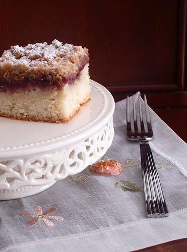 Open The Oven & Take A Look: Raspberry Crumb Cake
