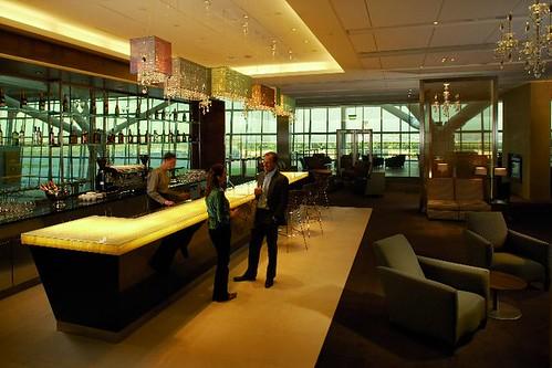 Concorde Bar at T5 Terminal - Heathrow airport