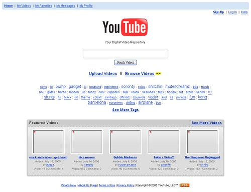 050716YouTube - Your Digital Video Repository