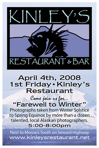 First Friday at Kinley's Restaurant