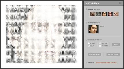 La tipografía como organismo | Experimento interactivo en Flash ceslava 0