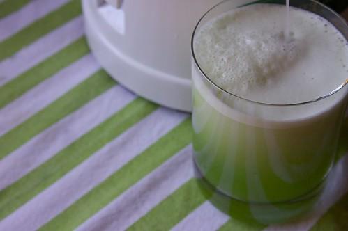 cucumber juice!