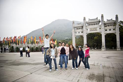 Moments at Tian Tan Buddha