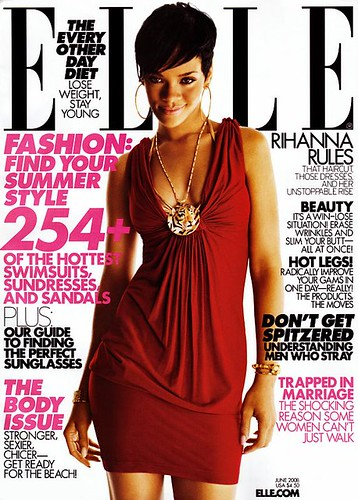 rihanna june elle magazine