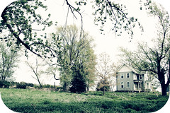 (yyellowbird) Tags: trees house abandoned yard landscape illinois exterior rockford springbrook