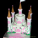 Princess McKenna 2 tier Castle Cake