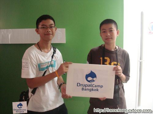 Thai & Framekung in Drupal Camp Bangkok