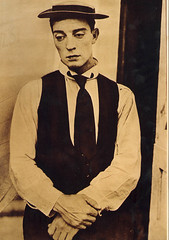 Buster Keaton (Stella Sabata comes to Kill!) Tags: vintage comic antique handsome actor legend talented silverscreen busterkeaton silentcinema