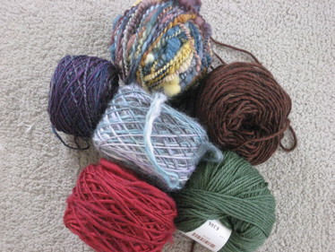 yarn for oh scrap! shawl