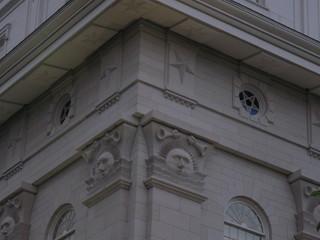 Temple Corner Detail