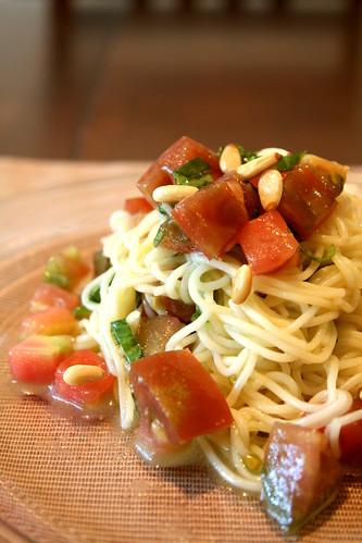 Tomato Basil Cappellini