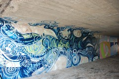 DSC_0884 (Kurt Christensen) Tags: art beach painting mural surf thrust gilgobeach gilgo