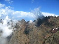Du sommet de Capu Scaffone, vue sur la Grande Barrière côté col de Sierra Pianella