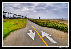 Coming and Going (James Neeley) Tags: california santabarbara landscape coast hdr pathway 5xp jamesneeley