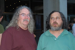 Downes / Stallman by Stephen Downes, on Flickr