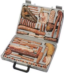 Sausage Tool Kit (terr-bo) Tags: handy beef sausage tasty meat crack pork german suitcase bratwurst toolkit weisswurst gelbwurst blutwurst braunschweiger porkliver knockwurst porkliversausage cracksausage