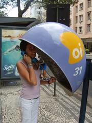 Rio de Janeiro, Brasil (Natalia Caballero) Tags: brasil riodejaneiro telefono