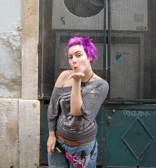 purple_jezz (wip-hairport) Tags: portugal hair with purple lisbon hairdresser salon dye wiphairport