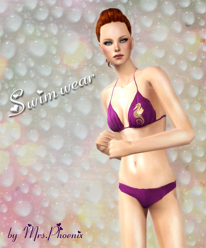 Swimsuit by Martina Cullen.