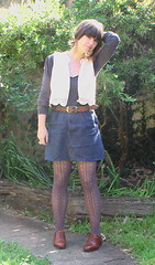 August 4 (Skylark and Son) Tags: vests skirts oxfords