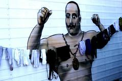 Strong man (mawabo) Tags: men circus bretagne housework
