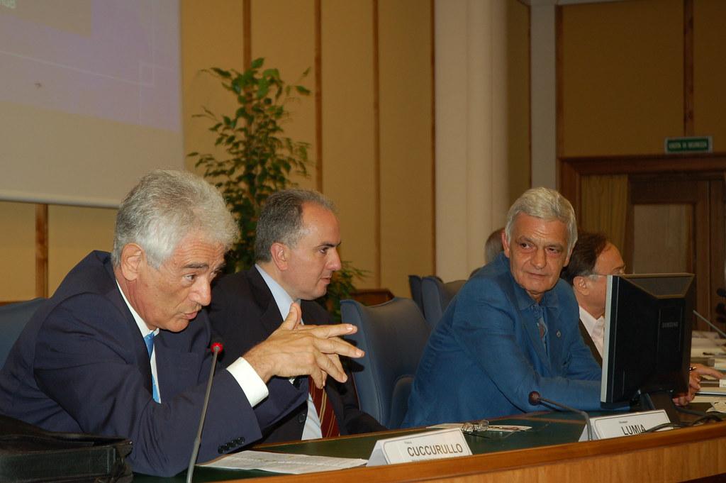 Franco Cuccurullo, Giuseppe Lumia, Orfeo Notaristefano