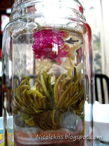 full bloom flower tea
