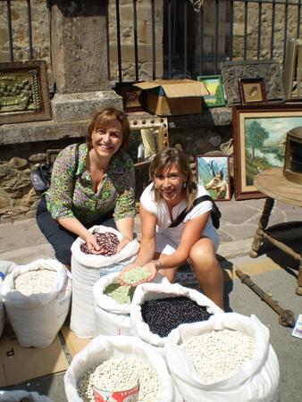 Maria, Auro y las legumbres