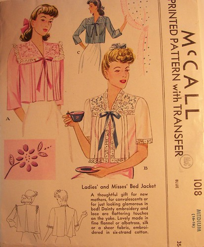1950's Bed Jacket