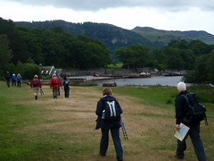 Heading to the boat in Keswick (Keswick, United Kingdom) Photo