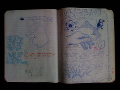 Sample sketchbook page at Trabant