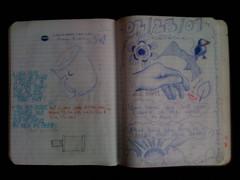 Sample sketchbook page at Trabant