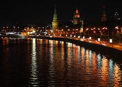 the kremlin embankment (Maine Surfer) Tags: sunset sky canon russia moscow burningsky embankment kremlin moscowcity          40d   ef24105lisusm